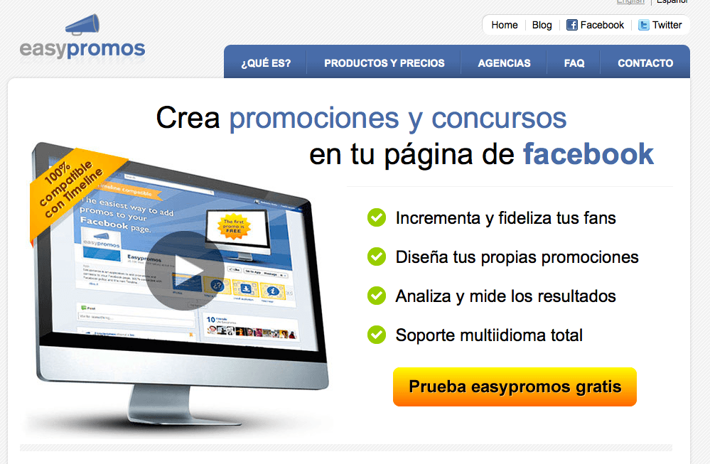 Concursos en Facebook, post de bucleweb.com