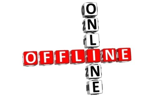 online-offline - bucle marketing online