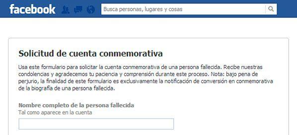 facebook-cuenta-conmemorativa ¿Qué pasa con tus datos de Internet cuando falleces?