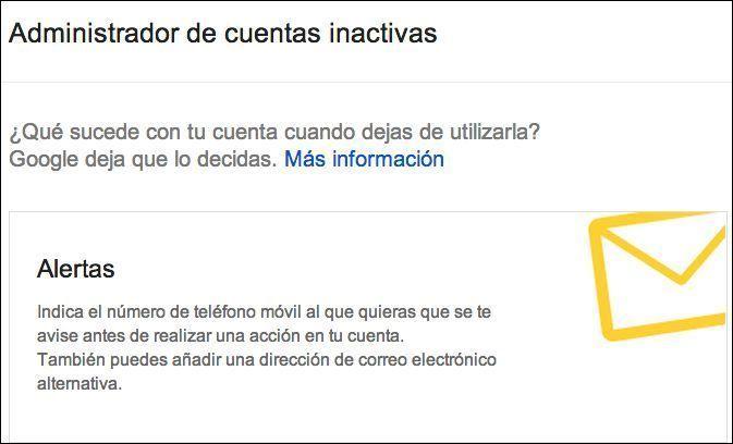 google_inactivas1 ¿Qué pasa con tus datos de Internet cuando falleces?