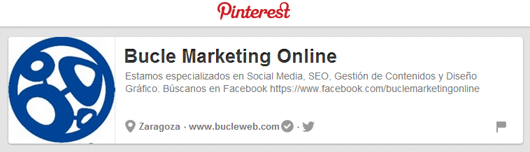 Bucle-Marketing-Web-en-Pinterest Pines promocionados en Pinterest