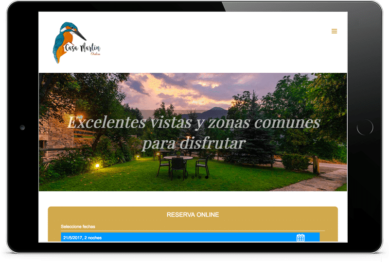 ipad-casa-martin Diseño Web Zaragoza