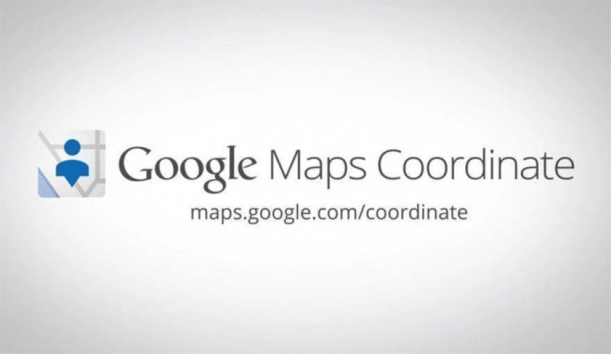 google maps coordinate e