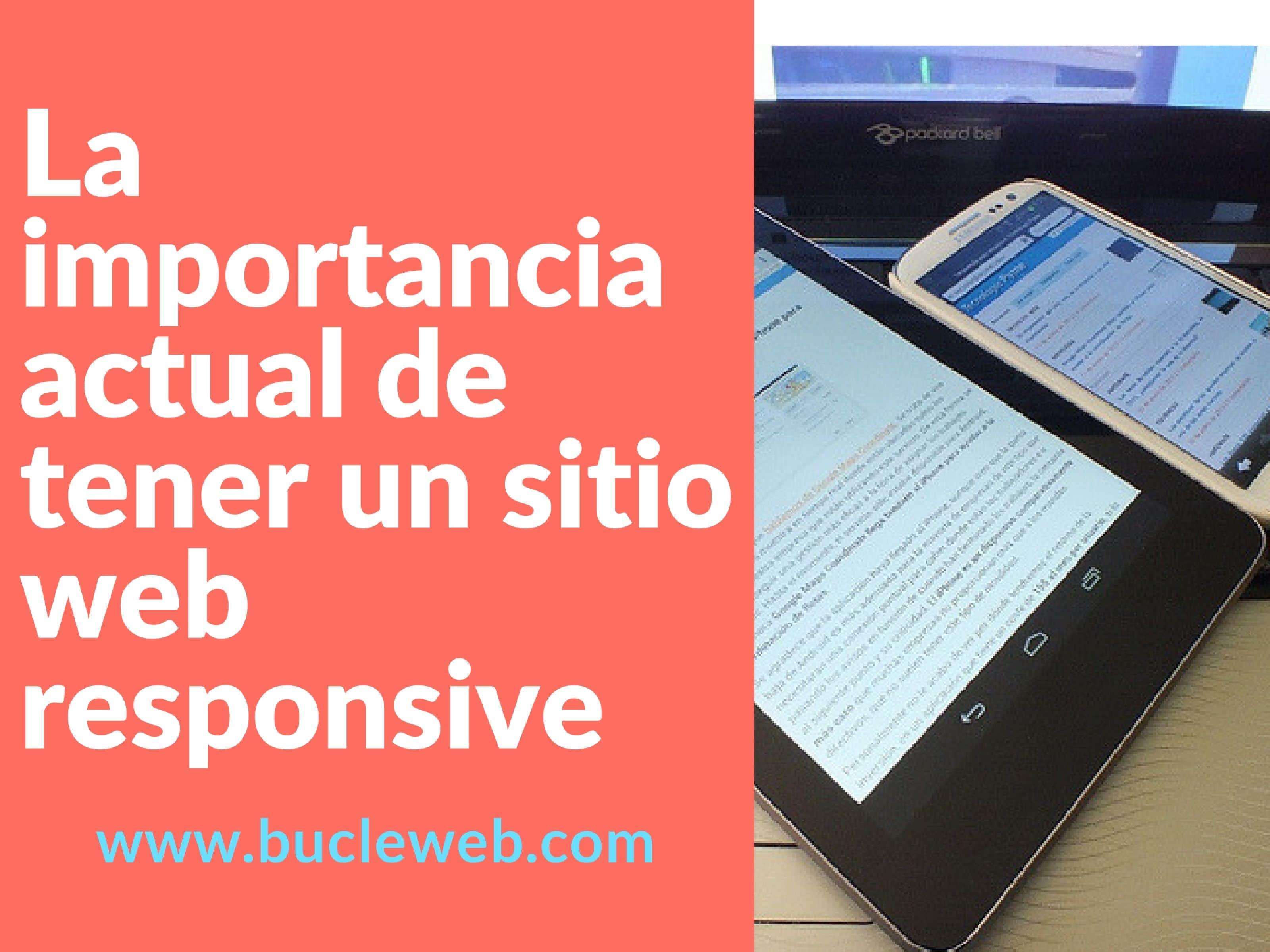 La importancia actual de tener un sitio web responsive