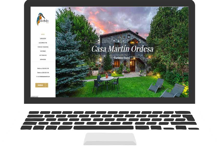 Casa mart n turismo rural agencia marketing online zaragoza - Casa martin sarvise ...