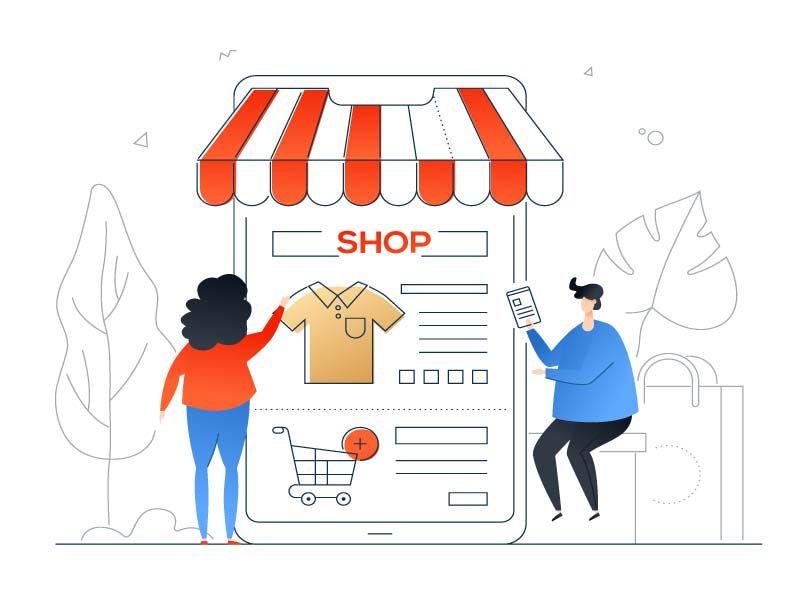 shop - Publicidad para negocio local