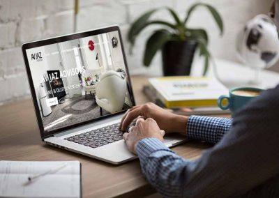 avjaz 1 400x284 - Nuestros trabajos de Marketing Online