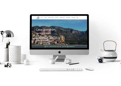 casa leandron 1 400x284 - Nuestros trabajos de Marketing Online