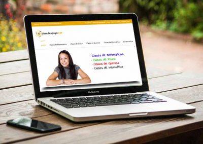 clases de apoyo 1 400x284 - Nuestros trabajos de Marketing Online