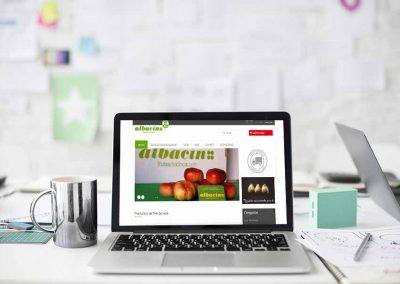 frutas del cinca 1 400x284 - Nuestros trabajos de Marketing Online