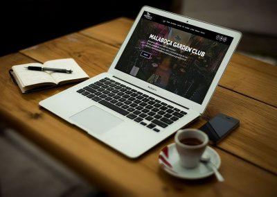 malaboca garden club 1 400x284 - Nuestros trabajos de Marketing Online
