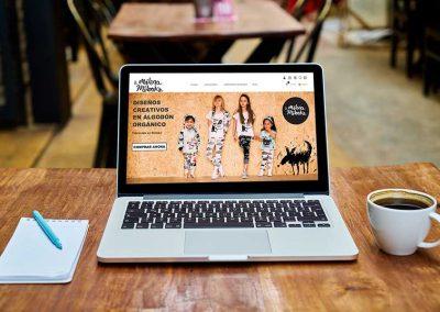 milenamilenka 1 400x284 - Nuestros trabajos de Marketing Online