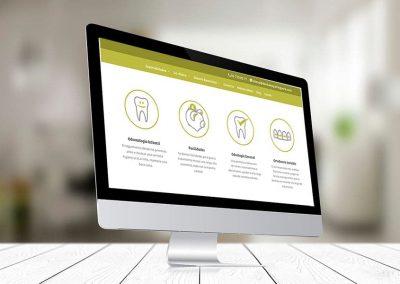 mima clinica dental 1 400x284 - Nuestros trabajos de Marketing Online