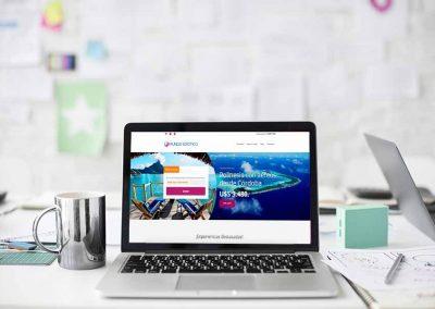 viajes exoticos 1 400x284 - Nuestros trabajos de Marketing Online