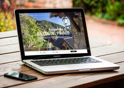 balcon pirineo 1 400x284 - Nuestros trabajos de Marketing Online