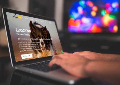 emocican 1 400x284 - Nuestros trabajos de Marketing Online