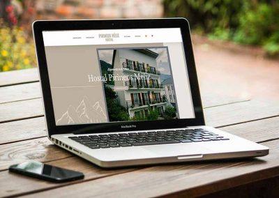 hostal pirineos meliz 1 400x284 - Nuestros trabajos de Marketing Online