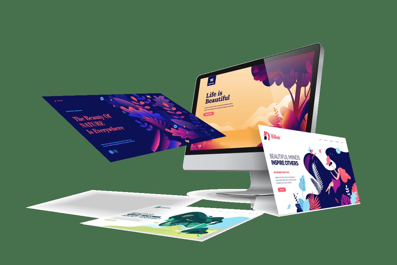 design - demo pagina