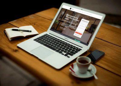 krisalia interiorismo 1 400x284 - Nuestros trabajos de Marketing Online